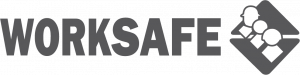 WorkSafe logo and link to WorkSafe website